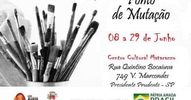 """Exposição """"Ponto de Mutação"""" a exposição de Nivaldo Gonçalves tem como objetivo revisitar o movimento moderno"""