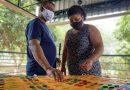Pedagogia faz peças em Braille para a Associação dos Cegos