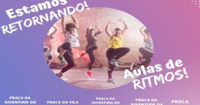 Coordenadoria da Juventude retoma aulas de dança em cinco polos de Prudente