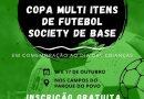 Semepp realiza Copa Multi Itens de Futebol Society para jovens entre 8 e 14 anos